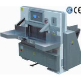 Digital Display Double Hydraulic Double Guide Paper Cutting Machine (QZYX920D)