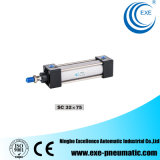 Sc Series Pneumatic Cylinder Standard Cylinder Air Cylinder Sc32*75