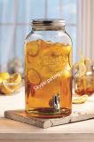4L Glass Jar with Mason Design