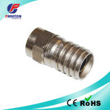 Rg59 RG6 Crimp F Connector for CATV Cable (pH3-1056)
