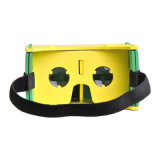 Easy Portable Plastic Virtual Reality Google Cardboard 3D Glasses