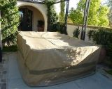out Door 8 Seater Rectangular Table Cover