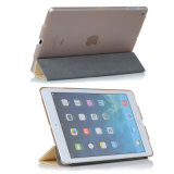 Hot Sale High Quality Flip Style PU Case for iPad