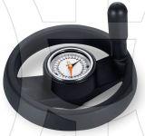 Technopolymer - Two Spokes Handwheel with Gravity Indicator