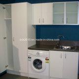 2015 Fashion Modern High Gloss White Laundry Cabinet