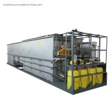Compact Industrial and Domestic Buried Sewage Water Treatment Plant Machine Price