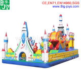 Hot 0.55mm PVC Tarpaulin Giant Inflatable Bouncer
