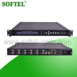 Digital Headend 2 Asi + 6 Tuner Input TV Multiplexer