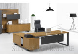 Popular Steel Leg L Shape Modern Office Desk (SZ-OD337)