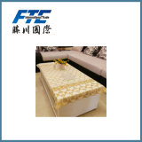 Waterproof Oilproof Golden Printed Pattern Luxurious Table Cloth