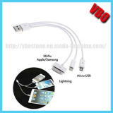 High Speed USB Data Cable for iPhone5, 8pin Flat Cable (CI-301D)