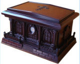 Luxurious Hand Carved Rosewood Funeral Human Urns