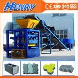 Qt4-24 Concrete Block Making Machine, Cement Brick Machine Machinery List Scale Industrial