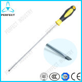 Extra Long Non-Slip Handle Slotted Screwdriver