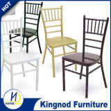 Factory Wholesale Price Plastic Wedding Event Banquet Tiffany Chiavari Chair