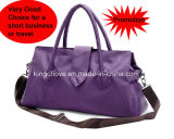 Promotional and Best Selling Nylon with PU Ladies Handbag (KCH148B)