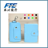 Hotsale Fashion PVC Leather Fte Card Holder for Key Card