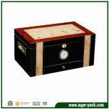 Wooden Cigar Box and Cigar Cabinet