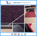 Newest Double Color Stripe PVC Rubber Coil Mat