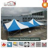 5X5m Luxury Customized High Peak Waterproof Aluminum Gazebo Party Tent