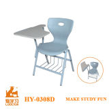 Modern Design Metal and PP Plastic Writing Chair