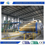 Batch Type 10 Tons Capacity Waste Rubber Recycling to Oil Energy Machine