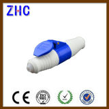 Waterproof IEC Standard Single Phase 2p+E Male Plug