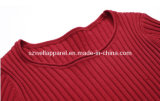 Woman's Knitted Fashion Jacquard Pullover Sweater (SZWA-0928)