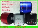 Original Ws-138RC Speaker 3W+FM+TF&USB Disk+Record (WS-138RC)