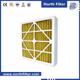 Light Weight Paper Frame Panel Filter with Non-Woven Media