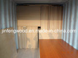ISO9001: 2008 Furniture Grade E1 Glue Solid Wood Grain Color 100% Poplar 1220*2440mm Melamine MDF Board