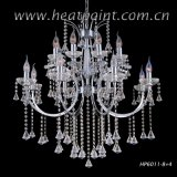 Hotel Crystal Residential Chandelier Lighting, Ceiling Lamp, Crystal Ceiling Light (HP6011-8+4)