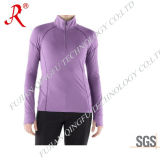 Women′s Dry Fit and Protection Shirt with Top Quality (QF-1834)
