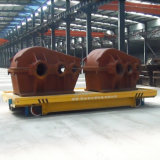 Heavy Industry Motorized Ladel Transfer Car for Steel Plant on Rails