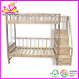 Wooden Furniture Solid Pine Wood Kids Furniture Children Bunk Bed for Age 3- 12 Old (WJ278703)