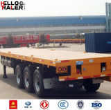 Tri-Axle 40FT 1250mm Truck Trailer Long Vehicle for Sale