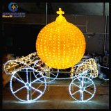 Waterproof IP66 Decorative Christmas Village Street Lighting Deer for Shopping Mall with CE RoHS