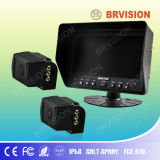 Rear View System with Side View Cameras for Car