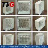 Decorative Clear Cloudy Glass Brick