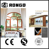 Arc Shaped Aluminium Windows for Living Room