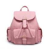 2016 Newest Simple Fashion Lady Leather Backpack