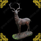 Cast Iron Deer for Home Decoration