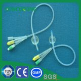 Disposable 100% Pure Silicon Coated Foley Catheter
