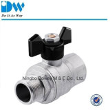 Brass Gas Ball Valve with Butterfly Handle Fxm