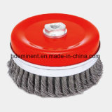 Rotary Knotted Wire Cup Brush