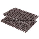 Plastic Modular Conveyor Belt with Positrack 1000 Molded to Width