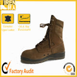 Coyote Desert Color PU Injection Military Police Army Boot