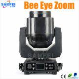 Mini Beam LED 7*15W RGBW Moving Head Bee Eye Zoom Light