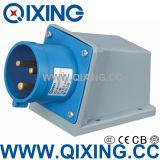 Wall Mounted Plug with International Standard (QX-344)