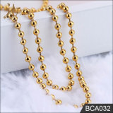 Hot Sale Godl Color Necklace Chain Metal Ball Chain